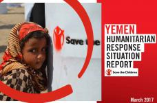 YEMEN HUMANITARIAN RESPONSE SITUATION REPORT-  March 2017