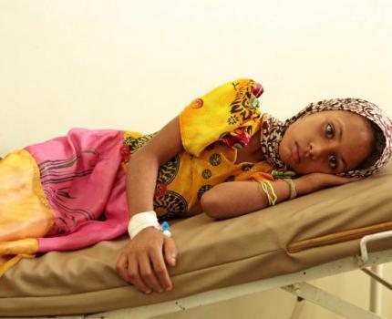 YEMEN: One million malnourished children caught in cholera 'hot zones'