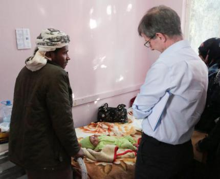 CEO of Save the Children UK Visits Yemen