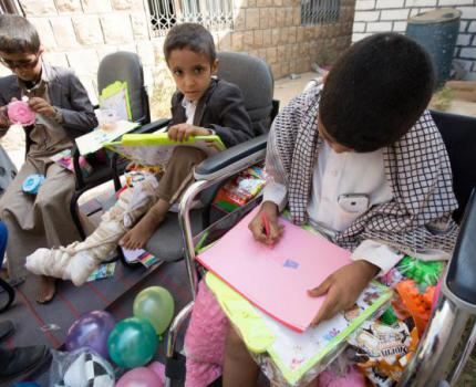 GENERATION OF CHILDREN IN NEED OF MENTAL HEALTH SUPPORT IN YEMEN