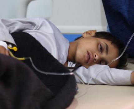 YEMEN CHOLERA EPIDEMIC INFECTING ONE CHILD EVERY MINUTE