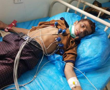 YEMEN: Children bear the brunt of worst diphtheria outbreak for a generation