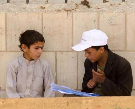 Save the Children in partnership with partner Tawasal initiate 'The impact of the conflict on Yemeni Internally Displaced Children: A Child-Led Assessment