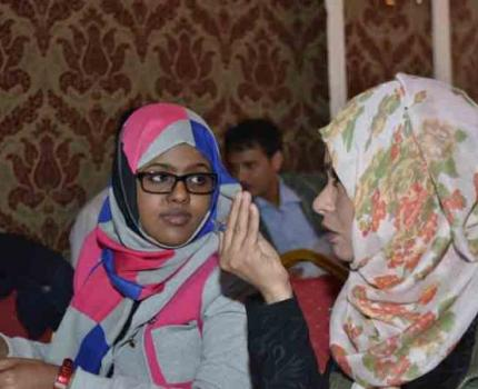 PFA training of trainers - Psychological first aid Training in Yemen